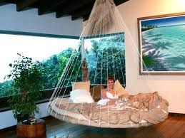 Bedroom Hammock Beautiful Indoor Floating Bed Hammock Interior Design Ideas