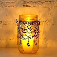 Decorating Candle Jars Decorate Jars Candles Thanksgiving Mason Jar Decorating Candle 59