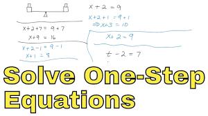 algebra 1 course unit 3 solve single step and multi step equations math tutor public gallery