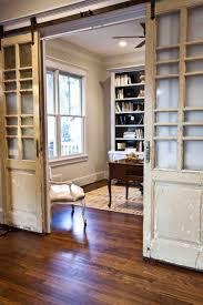 sliding barn door style doors from cedar hill farmhouse blog
