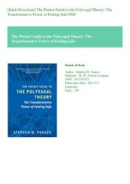 Polyvagal Theory Chart Epub Download The Pocket Guide To The Polyvagal Theory The