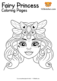 Get your free printable princess coloring pages at allkidsnetwork.com. Free Printable Fairy Princess Coloring Pages For Girls 123 Kids Fun Apps