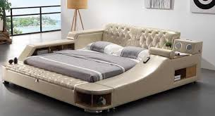 Detail Feedback Questions about real genuine leather bed with ...