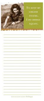 Martin Designs Notepads Shannon Martin Design List Pad Count As Cardio