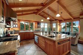 cedar kitchen cabinets awesome wood 4 craftsman with cathedral outdoor spanish