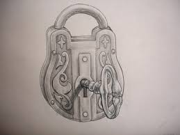 lock and key drawing. Perfect And 3072x2304 Lock And Key Drawing Adding A To My Tattoo  For Inside O