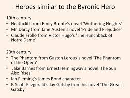 the byronic hero that man of loneliness and mystery ppt  heroes similar to the byronic hero