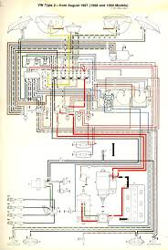 thesamba com type 2 wiring diagrams turn signal schematic highlight 1968