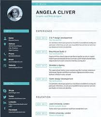 Resume Sample For Graphic Designer Resume Example Graphic Design