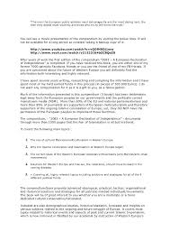 how to write an introduction in declaration of independence essay  declaration of independence essay outline