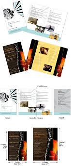 Event Programs Custom Event Program Printing