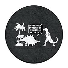 dinosaur firefly sudden circle bathroom rug mat round shower carpet bath rugs high quality bath rugs