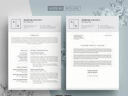 Resume Modern Ex Simple Resume Template Brown By Resume Templates On Dribbble