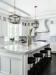 Huge Transitional Eat In Kitchen Inspiration   Huge Transitional U Shaped  Dark Wood Floor