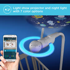 Light Show Mobile Baby Motorola Halo Video Baby Monitor Infant Wi Fi Camera With