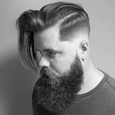 Slicked Back Hair Style 75 creative short on sides long on top haircuts2017 ideas 6720 by wearticles.com