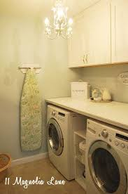 folding table over washer and dryer for interesting laundry room makeover with diy laundry room folding