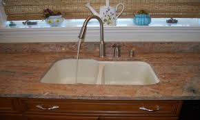 Swanstone Granite Kitchen Sinks White Kitchen Sink Faucet River White Granite White Granite