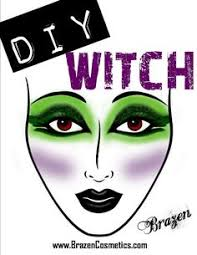 diy witches makeup maybe this will e in handy someday