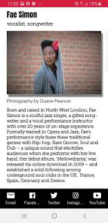 Fae Simon - Check out my featured artist write-up at... | Facebook