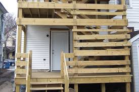 a deck built to fail professional deck builder codes and standards framing structure safety building codes