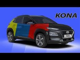 2018 hyundai kona colors. beautiful kona 2018 hyundai kona all color options on hyundai kona colors