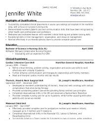 Sample Entry Level Nurse Resume Entry Level Nurse Resume Nursing ...