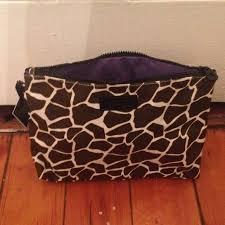 giraffe cosmetics bag
