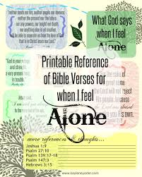 Bible Quotes About Death Simple Verses For When You Feel Alone Kaylene Yoder