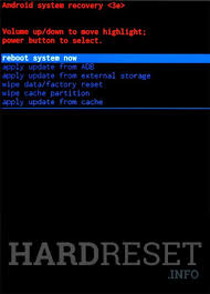 Hard Reset ICEMOBILE G5, how to ...