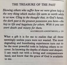 Treasure Of The Past Alcoholics Anonymous P 124 Addiction And