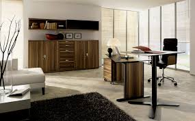 home office images modern. Furniture:Modern Home Office Furniture Pods With L Shaped Table And Black Chair Veneer Images Modern