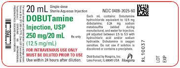 Dobutamine Injection Usp