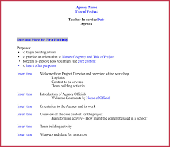 7 Staff Meeting Agenda Templates Samples In Word Pdf Format