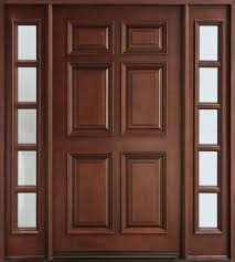 Solid wood doors are the most secure and beautiful doors. A solid wood door  from a high quality manufacturer when maintained and finished properly will  ...