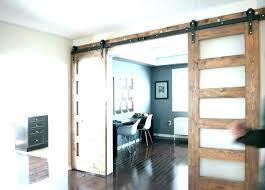 barn door with glass panels full glass panel solid wood stile barn door with glass sliding glass barn door
