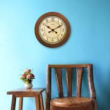 chaney wall clocks inch wood wall clock inch wood wall clock chaney instruments atomic wall clock