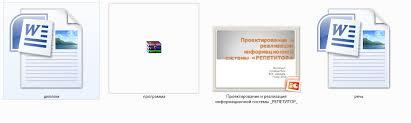 Проектирование и реализация информационной системы РЕПЕТИТОР на  Дипломная работа на тему Проектирование и реализация информационной системы РЕПЕТИТОР на примере учебного предмета Математика