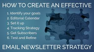 email newsletter strategy a 6 step plan for effective email newsletters