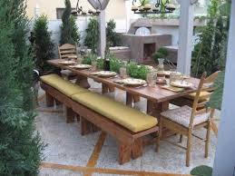 garden dining tables. Exellent Dining Custom Made Dining Table With Built In Herb Garden Inside Tables N