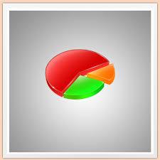 Pie Chart Photoshop Photoshop Tutorials Create Your Own Glossy Chart Pie