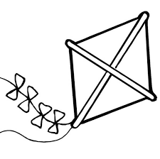 Kite Coloring Page Coloring Pages For Children