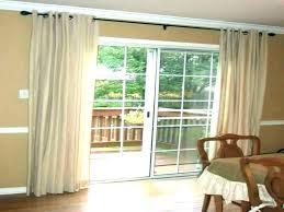 sliding patio door curtain rods from patio door double c patio