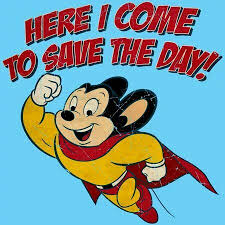 Image result for mighty mouse meme