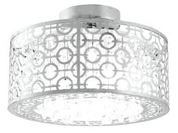semi flush mount crystal chandelier semi flush mount nerisa 4 light chrome semi flush mount crystal