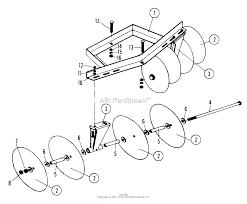 7060431 garden tool kit disc harrow parts
