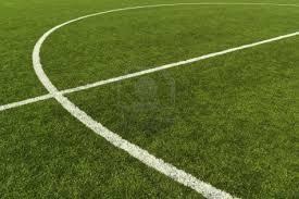 artificial turf soccer field. 8067164-artificial-turf-soccer-field-and-the-middle- Artificial Turf Soccer Field T