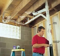 adding a basement bathroom. Valuable Adding A Basement Bathroom In Your Using Macerator