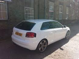 audi a3 black edition white 3 door s line flat bottom steering wheel