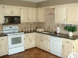 Refinished White Cabinets Refinishing White Kitchen Cabinets